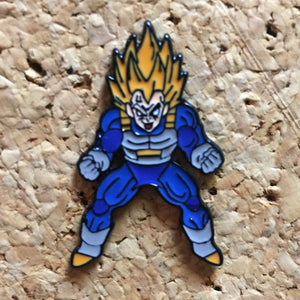 Vegeta Dragon Ball Z Hat Pin -Music Festival Essentials-1StopFestyShop.com