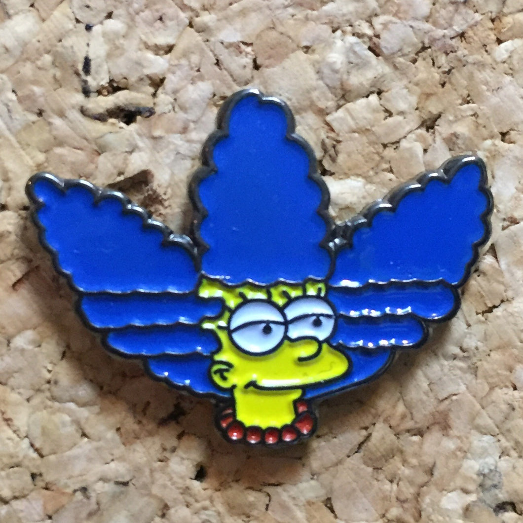 Marg Simpson Hat Pin - 1Stop Festy Supply Shop