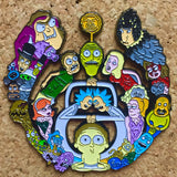 Rick and Morty Large Bassdrop Hat Pin -Music Festival Essentials-1StopFestyShop.com
