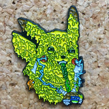 Pikachu Dabbin Drippy Hat Pin -Music Festival Essentials-1StopFestyShop.com