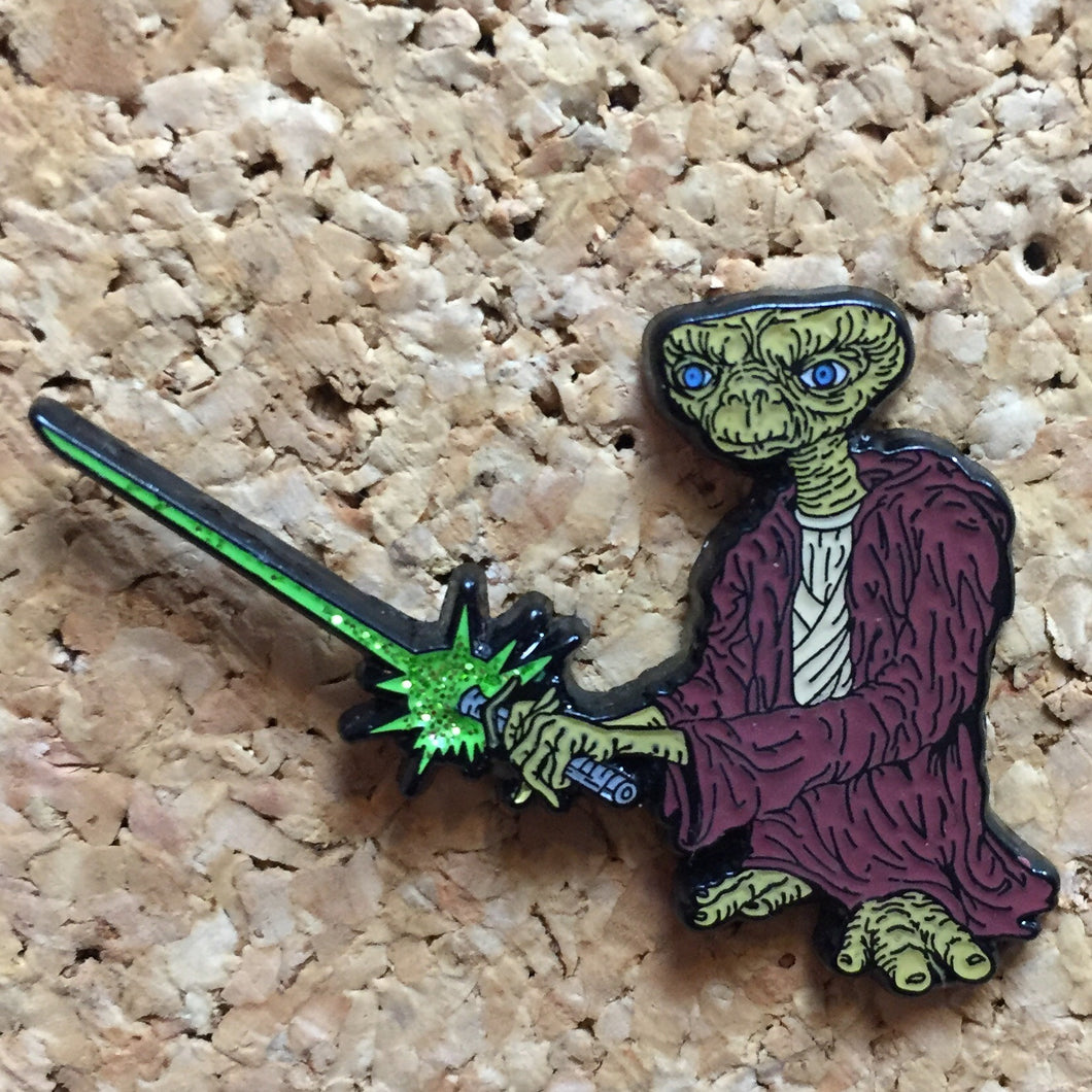 Green ET Star Wars Hat Pin - 1Stop Festy Supply Shop