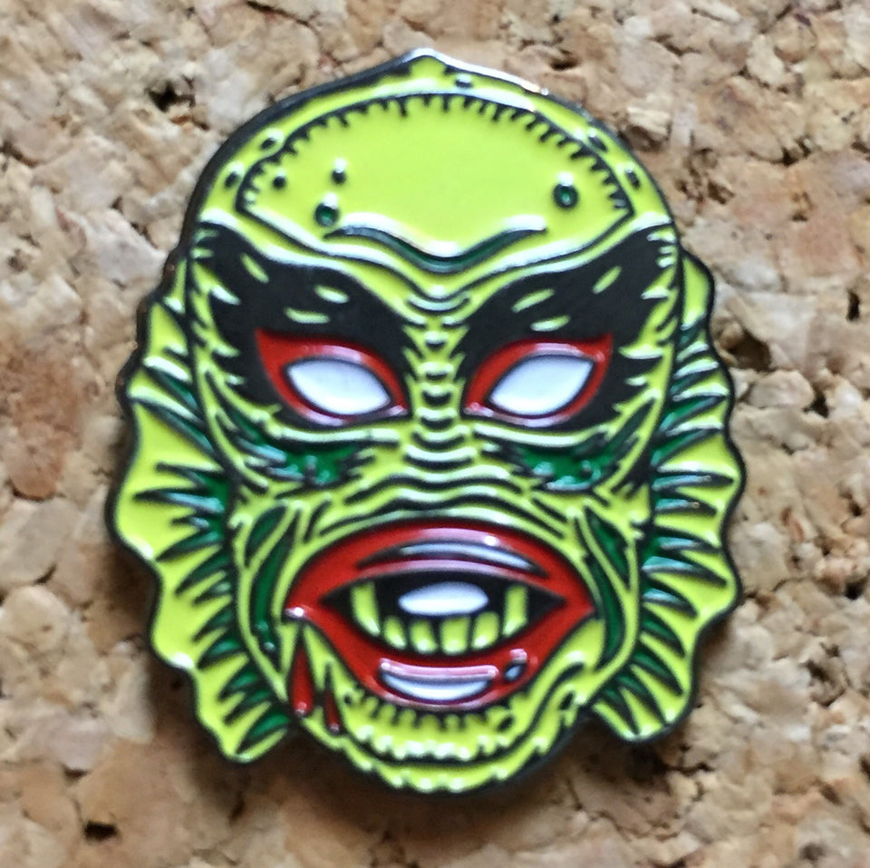 Nacho Libre Mask Hat Pin - 1Stop Festy Supply Shop
