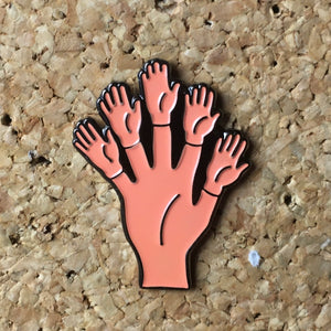 1Stop Festy Supply Shop  Mini Hand Festival Hat Pin