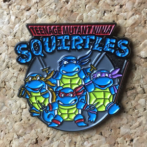 Ninja Squirtle Squad Pokemon Hat Pin -Music Festival Essentials-1StopFestyShop.com