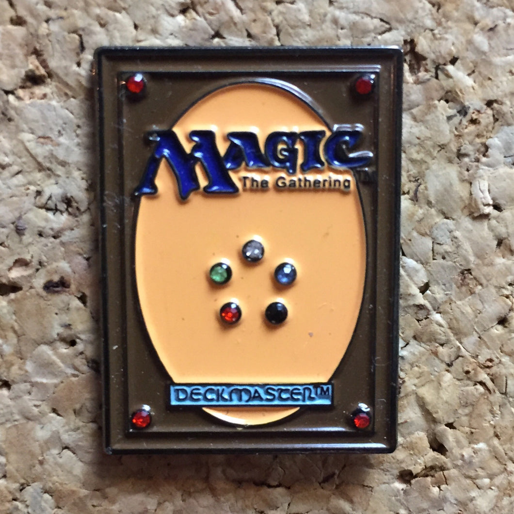 Magic The Gathering TCG Hat Pin -Music Festival Essentials-1StopFestyShop.com