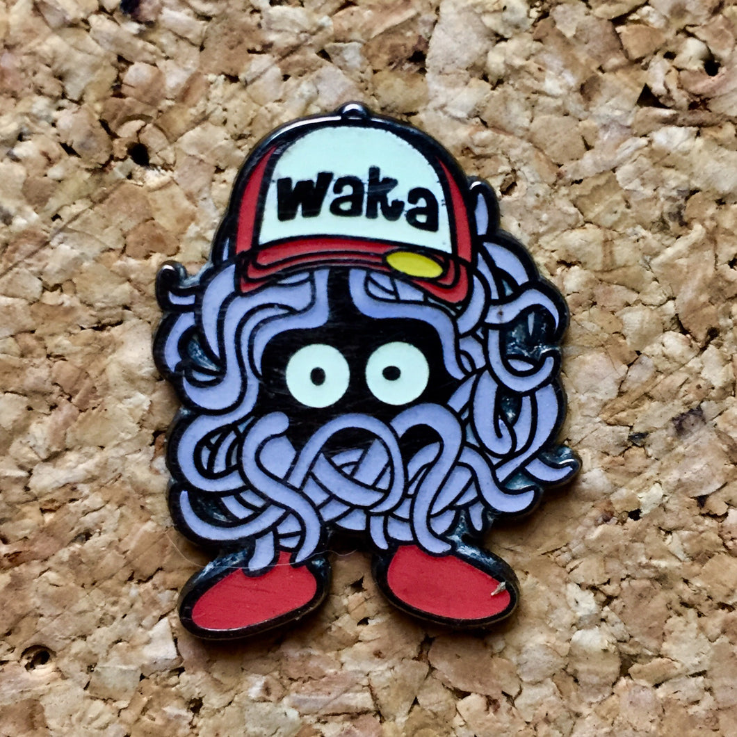 Wakarusa Tangela Glow In The Dark Hat Pin -Music Festival Essentials-1StopFestyShop.com