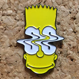 Bart Simpson Trippy Hat Pin -Music Festival Essentials-1StopFestyShop.com