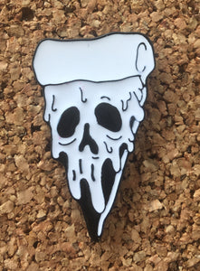 Drippy Pizza Face Hat Pin -Music Festival Essentials-1StopFestyShop.com