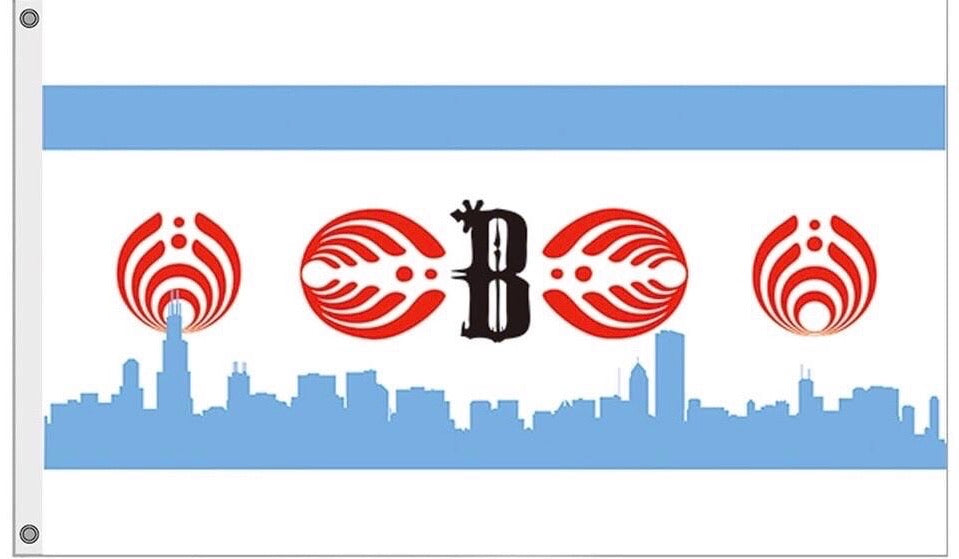 1Stop Festy Supply Shop  Chicago Bassnectar Festival Flag