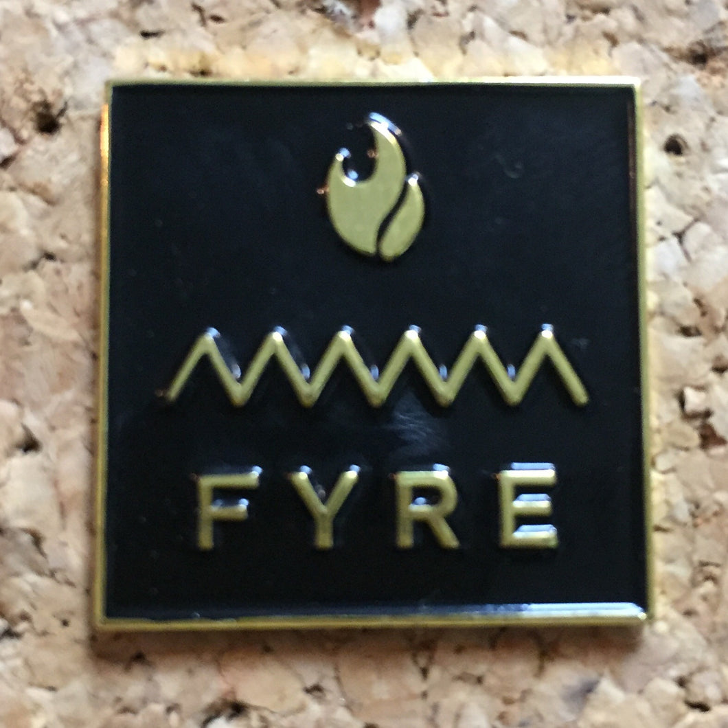 FYRE Festival Official Hat Pins -Music Festival Essentials-1StopFestyShop.com
