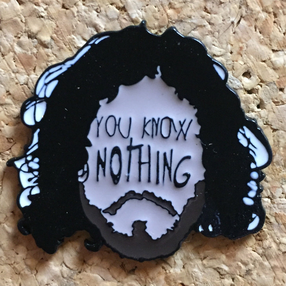 Jon Snow Game Of Thrones Hat Pin -Music Festival Essentials-1StopFestyShop.com