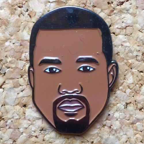 Kanye West Face Hat Pin -Music Festival Essentials-1StopFestyShop.com