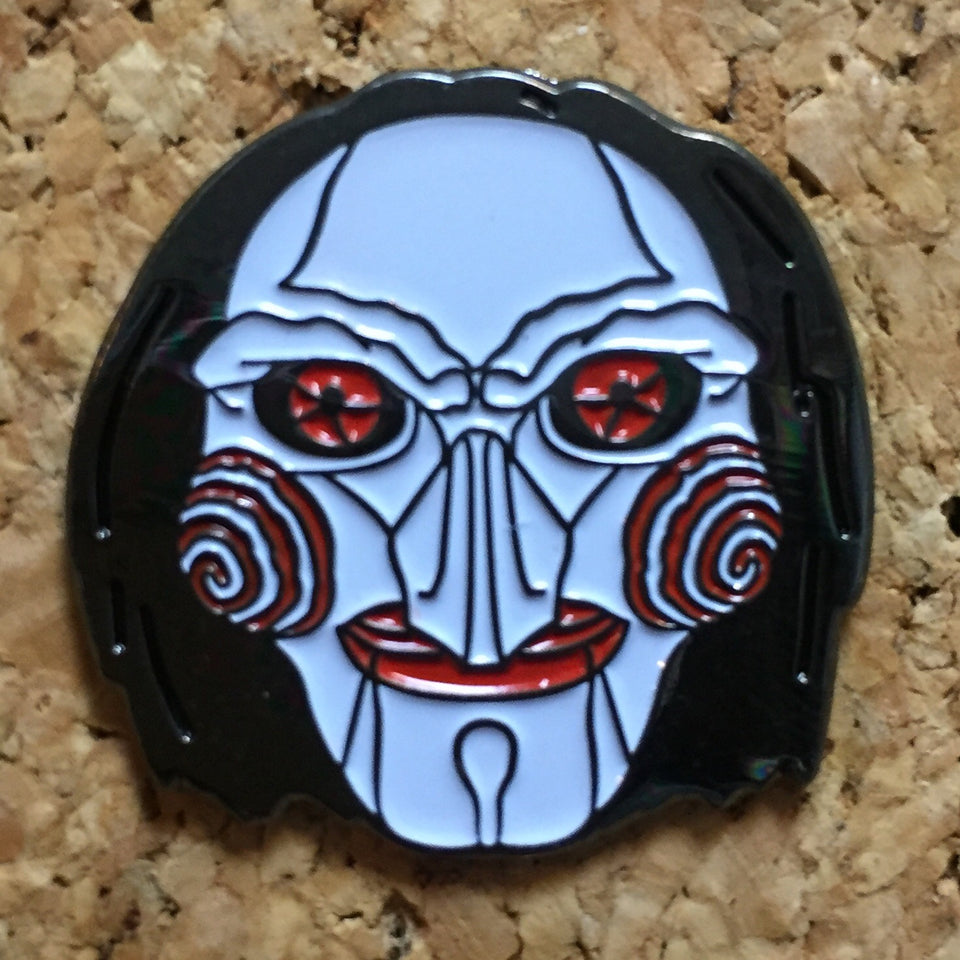 1Stop Festy Supply Shop  JigSaw Horror Hat Pin