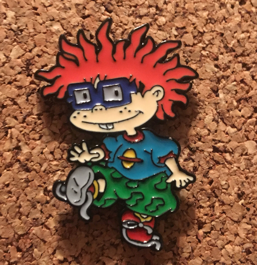 Chuckie Rugrats Hat Pin -Music Festival Essentials-1StopFestyShop.com