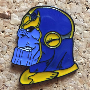 Thanos Marvel Hat Pin -Music Festival Essentials-1StopFestyShop.com