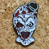 1Stop Festy Supply Shop  Bloody Clown Hat Pin