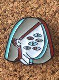 Six Eyed Woman Festival Hat Pin - 1Stop Festy Supply Shop