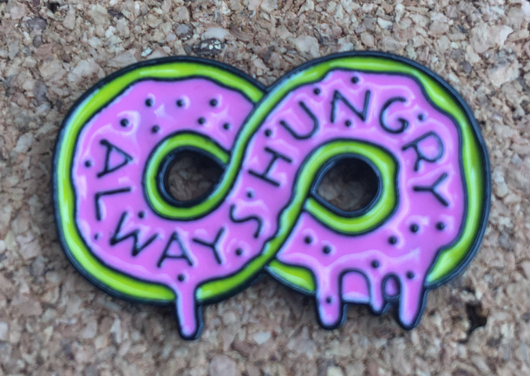 Always Hungry Infinite Hat Pin -Music Festival Essentials-1StopFestyShop.com