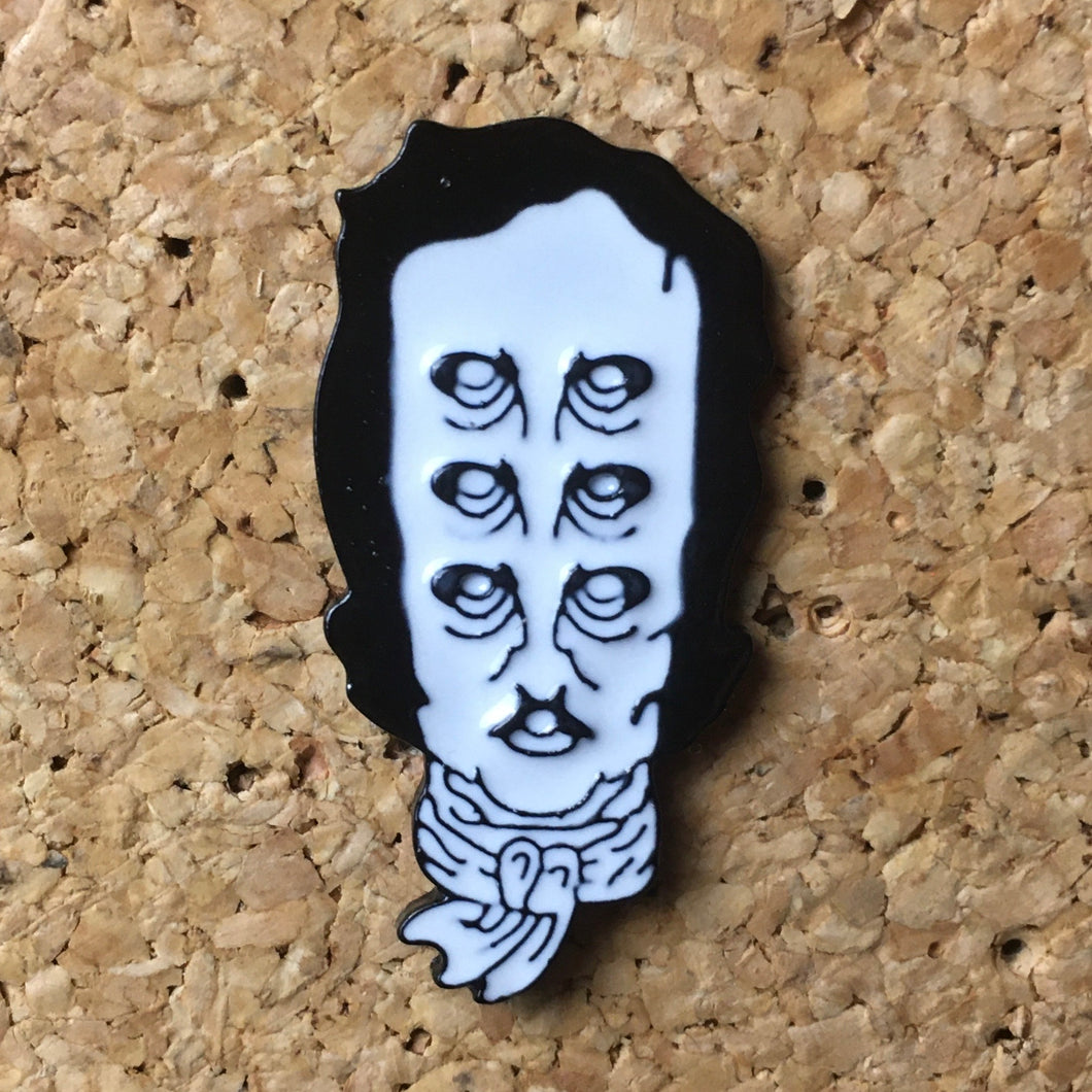 1Stop Festy Supply Shop  Edgar Allen Poe Hat Pin