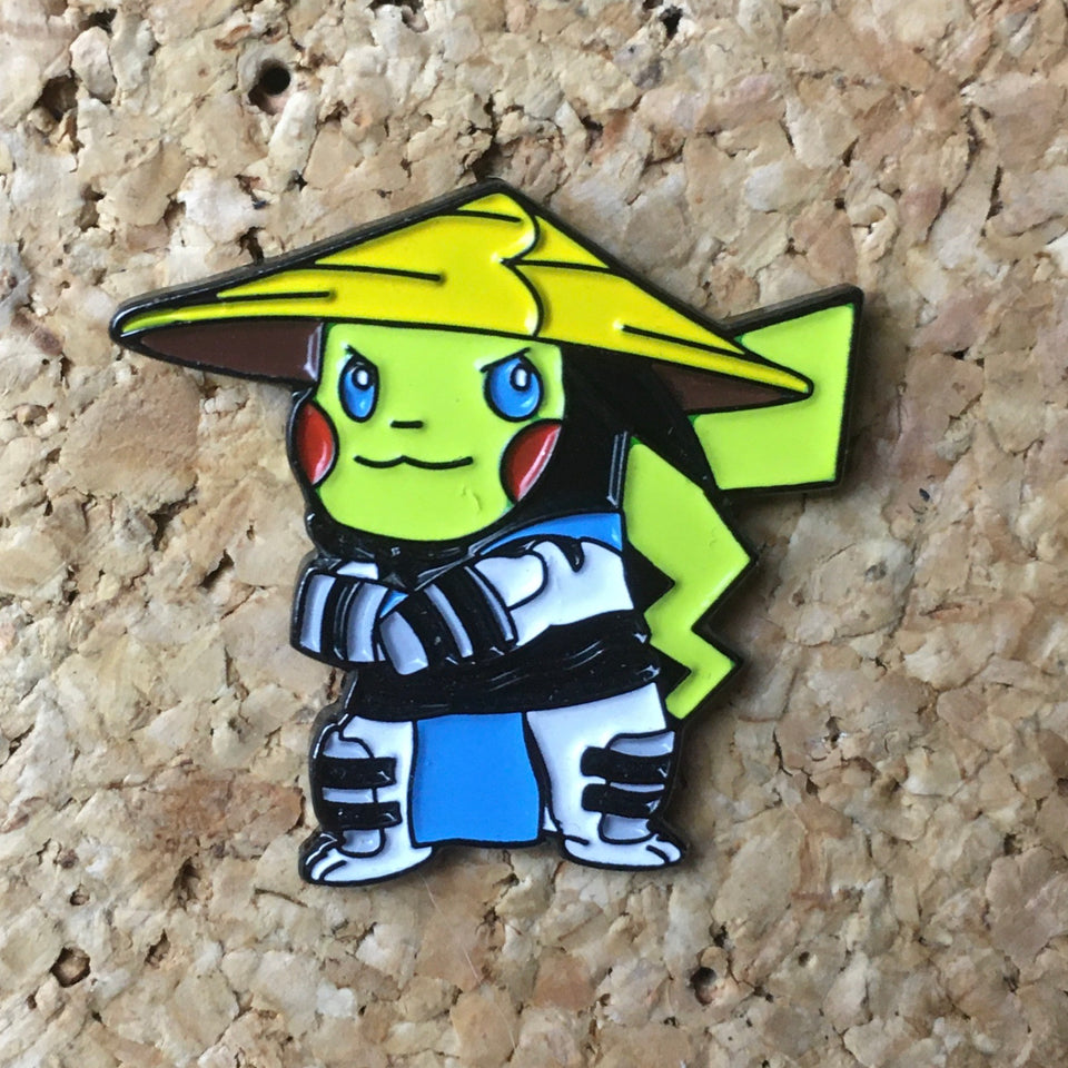 Pokemon Ninja Enamel Hat Pin -Music Festival Essentials-1StopFestyShop.com