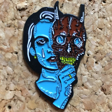 Two Faced Mask Woman Hat Pin - 1Stop Festy Supply Shop