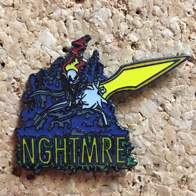 Nghtmre Sword Hat Pin (Glow In The Dark) -Music Festival Essentials-1StopFestyShop.com