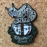 Electric Forest Wolf 3D Hat Pin -Music Festival Essentials-1StopFestyShop.com