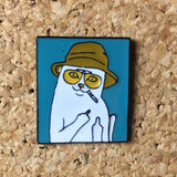 Naughty Kitty Rip & Dip Hat Pin -Music Festival Essentials-1StopFestyShop.com