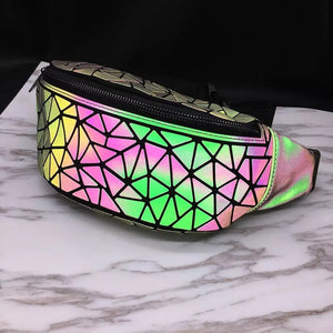 1Stop Festy Supply Shop  3M Reflective Festival Fanny Pack