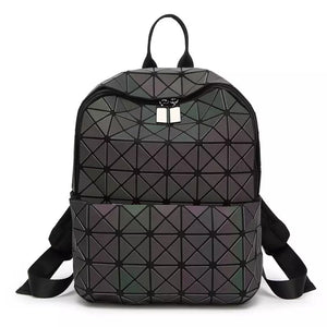 Holographic Festival Backpack- 3M Reflective -Music Festival Essentials-1StopFestyShop.com