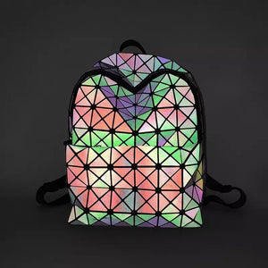 Holographic Festival Backpack- 3M Reflective - 1Stop Festy Supply Shop
