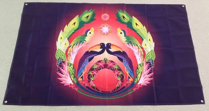 1Stop Festy Supply Shop  Bassnectar Festival Flag