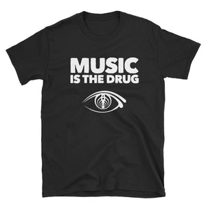 Music Is The Drug Bassnectar Unisex T-Shirt -Music Festival Essentials-1StopFestyShop.com