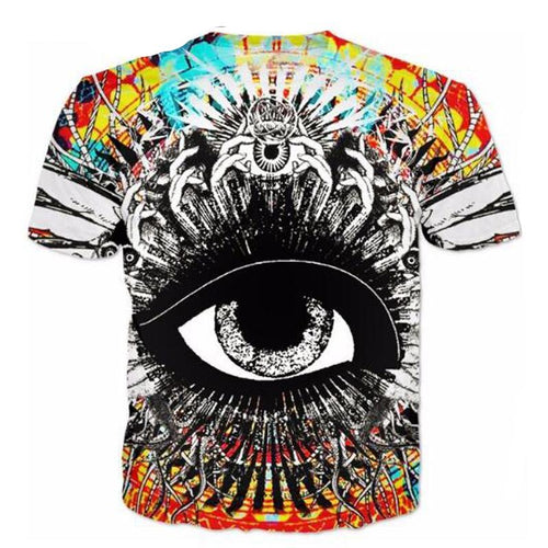 Bassnectar God's Eye Church Shirts - 1Stop Festy Supply Shop