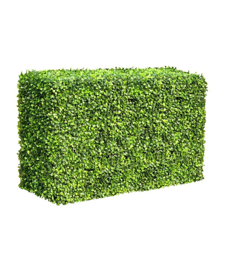 Portable Boxwood Hedge 1m Long 50cm High 30cm Deep
