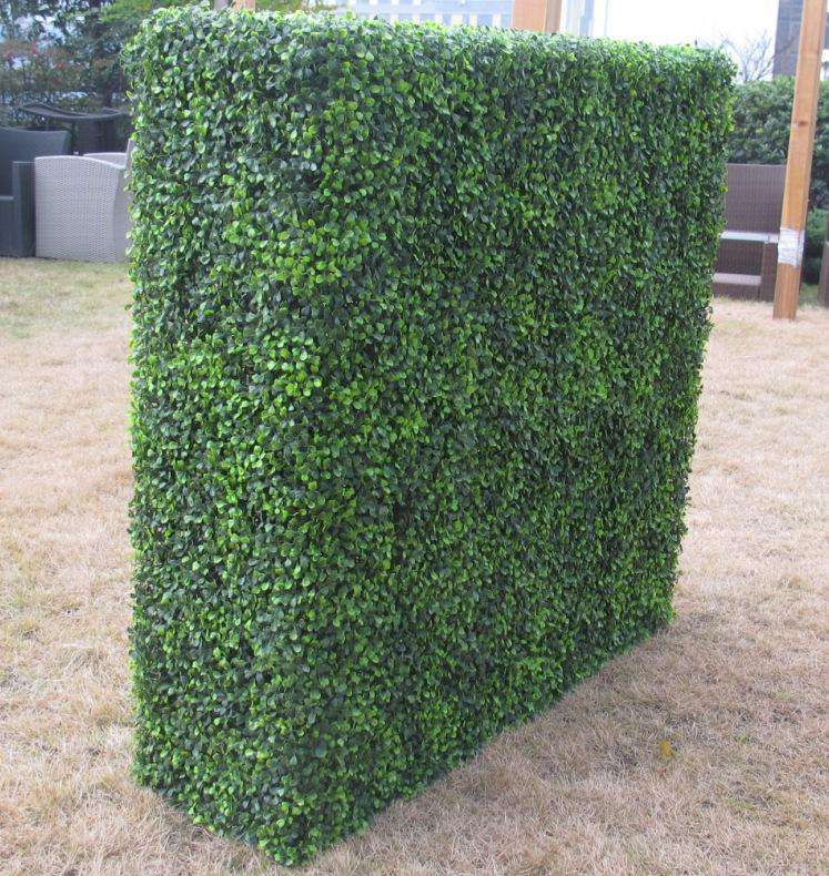 Large Portable Boxwood Hedges UV Stabilised 1.5m By 1.5m - Desirable Home Living