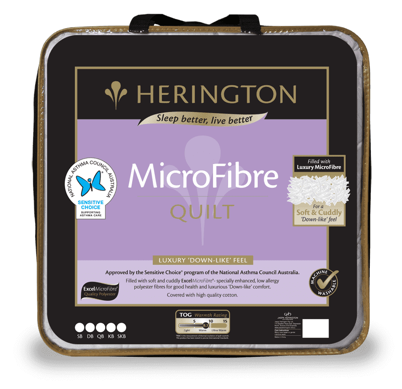 MicroFibre Single Quilt by Herington