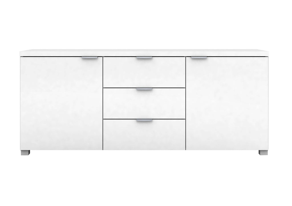 Kyana 2 Door 3 Drawer High Gloss Buffet