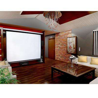 "150"" Electric Motorised Projector Screen TV +Remote - Desirable Home Living"