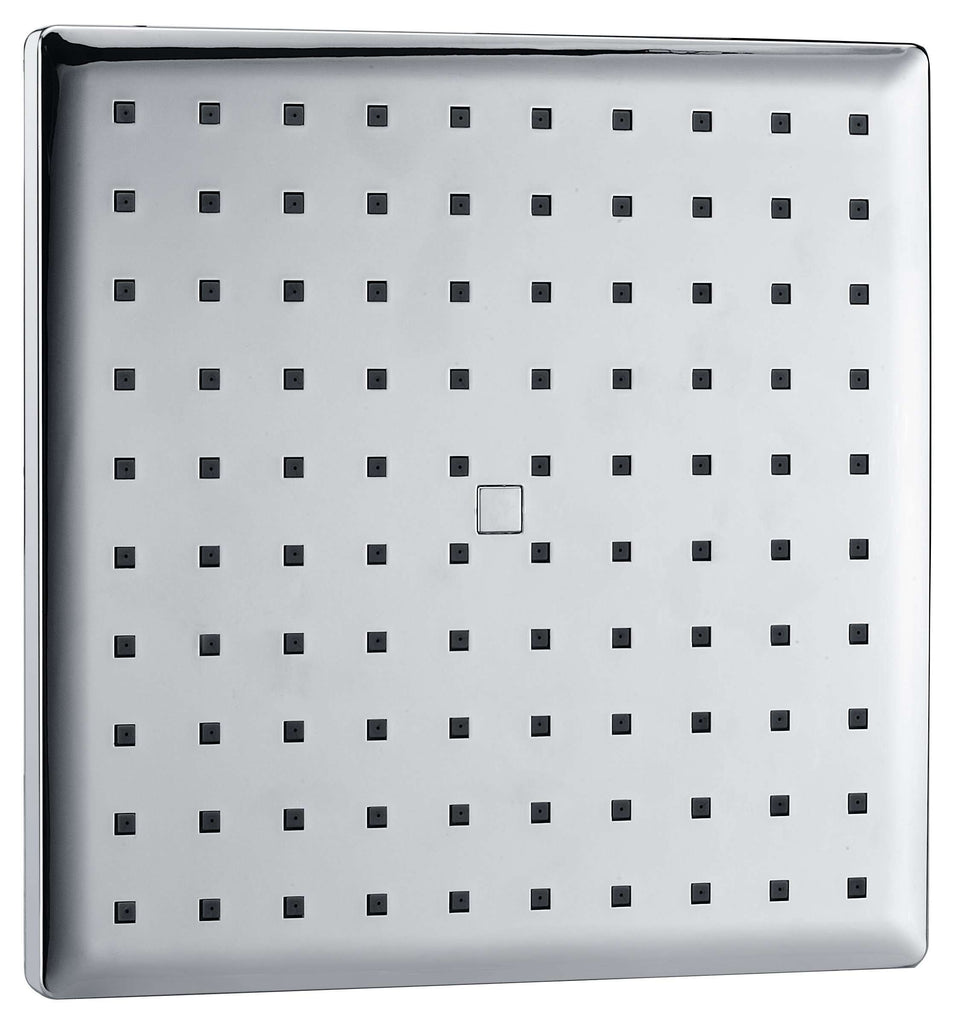 Rain Showerhead -230mm Squared - Desirable Home Living