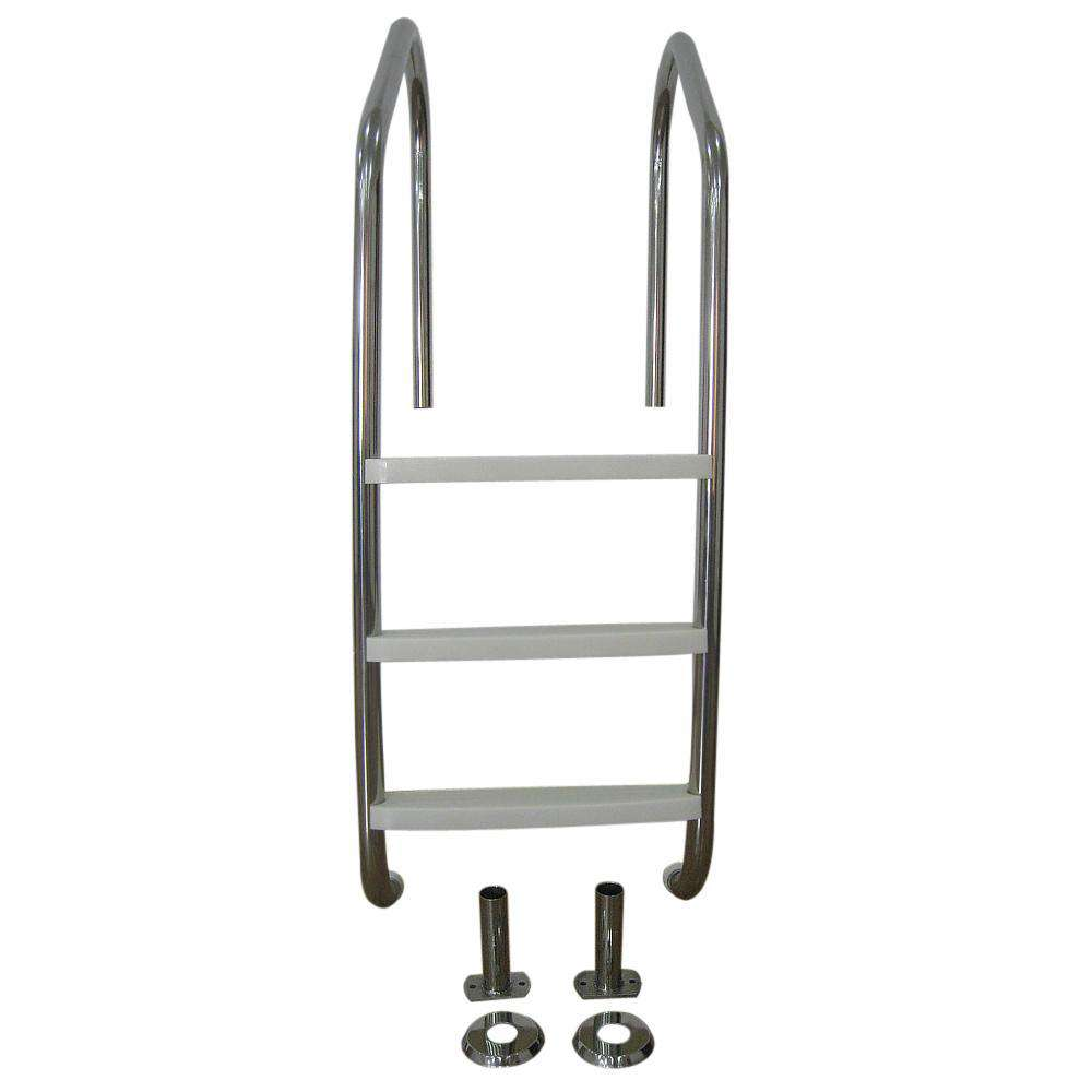 Stainless Steel Pool Ladder - Desirable Home Living