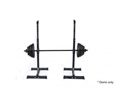 Pair of Adjustable Bench Press Stands GYM/HOME