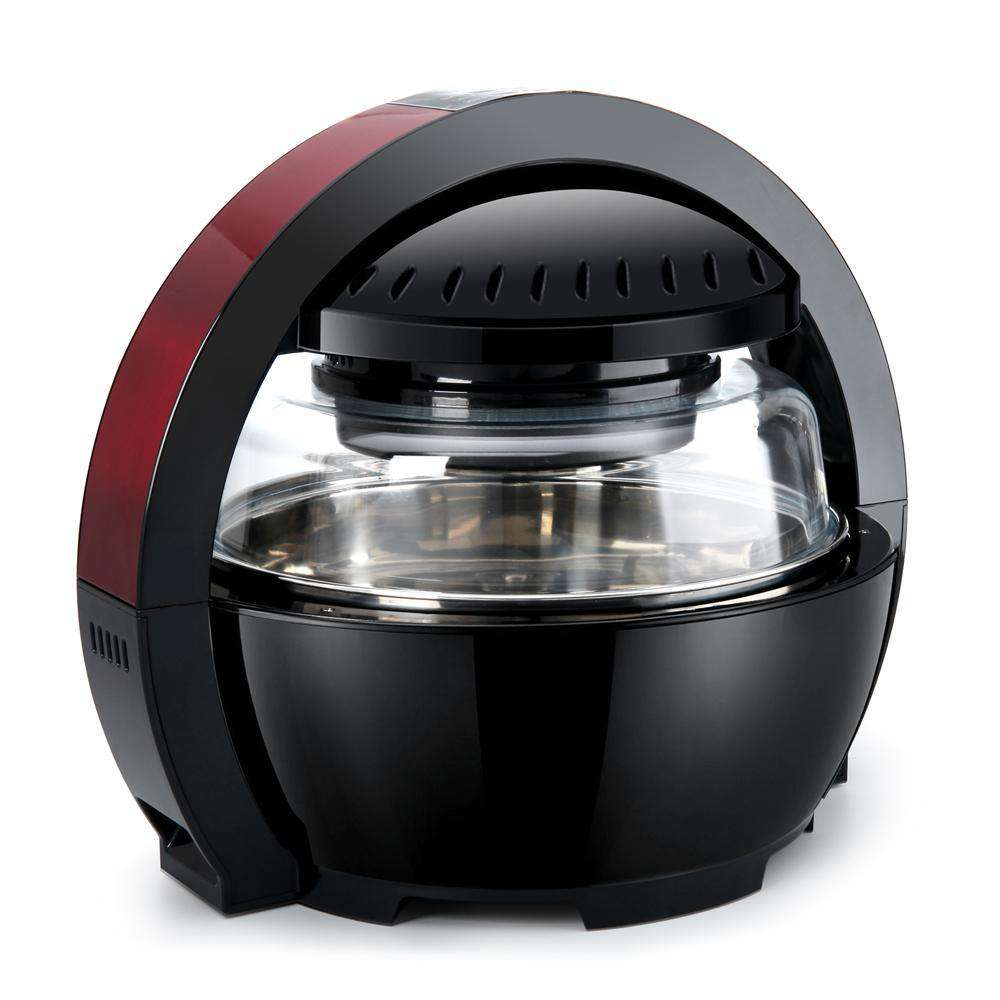 Devanti 13L Air Fryer Oven Cooker - Black & Red