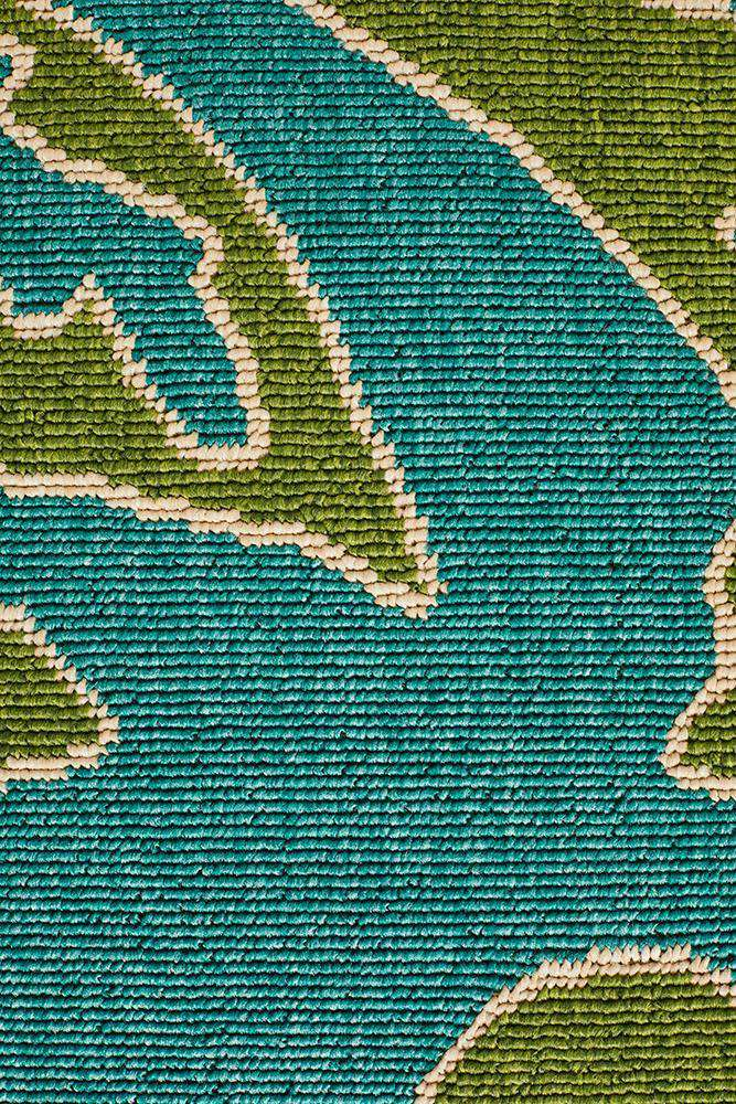 Alfresco Blue Green Rug - Misandae