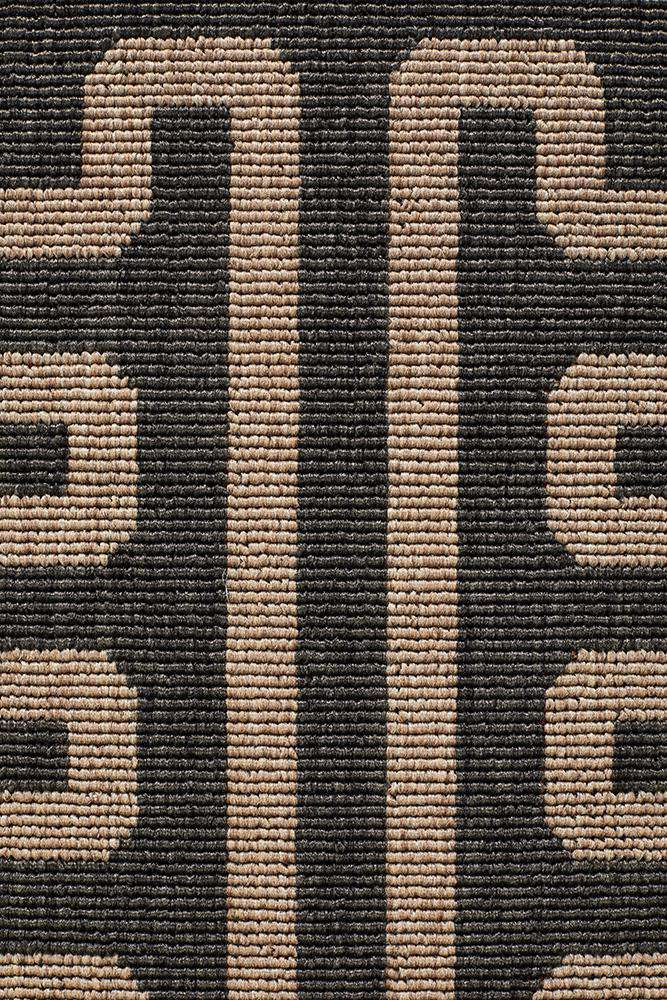 Alfresco Charcoal Rug - Petra