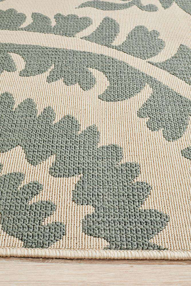 Alfresco Teal Rug - Adalita