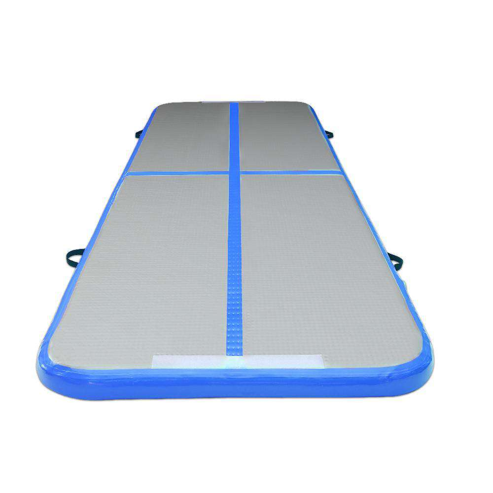 Inflatable Air Mat Blue and Grey - Desirable Home Living
