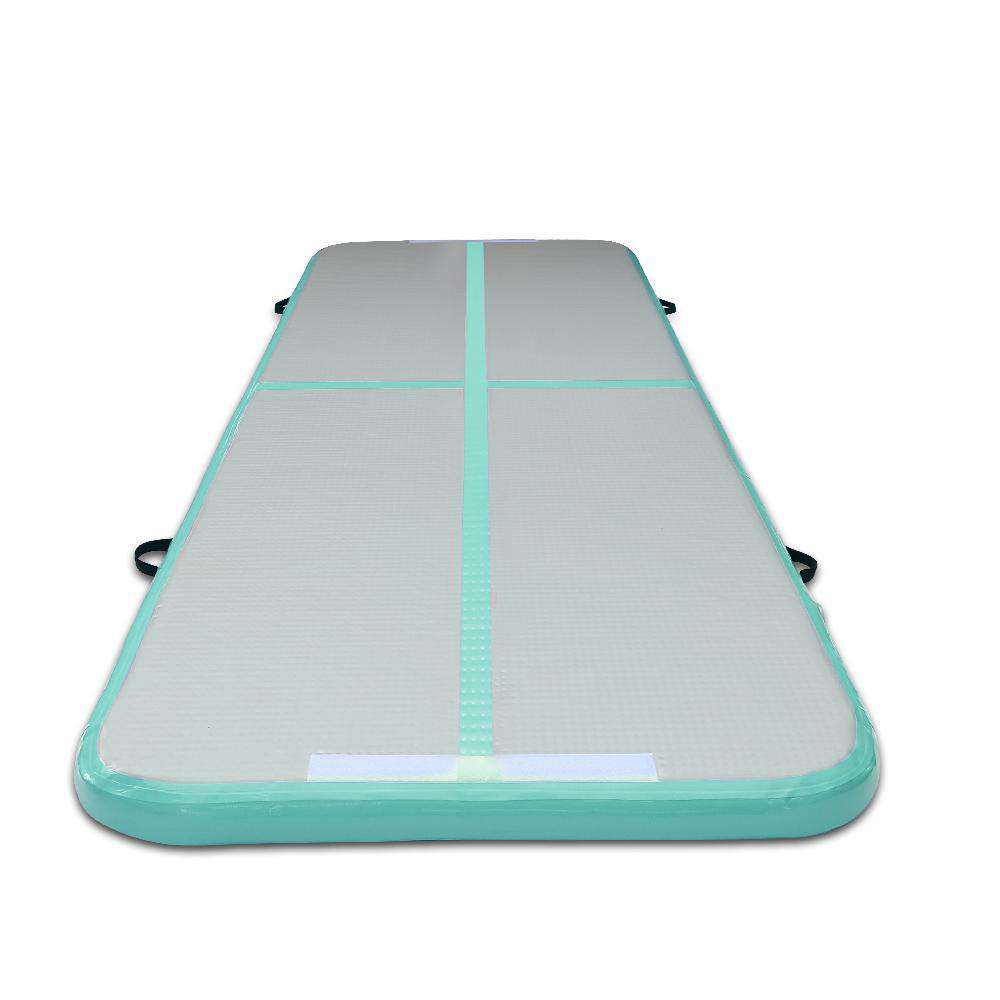 Inflatable Air Mat Mint and Grey - Desirable Home Living