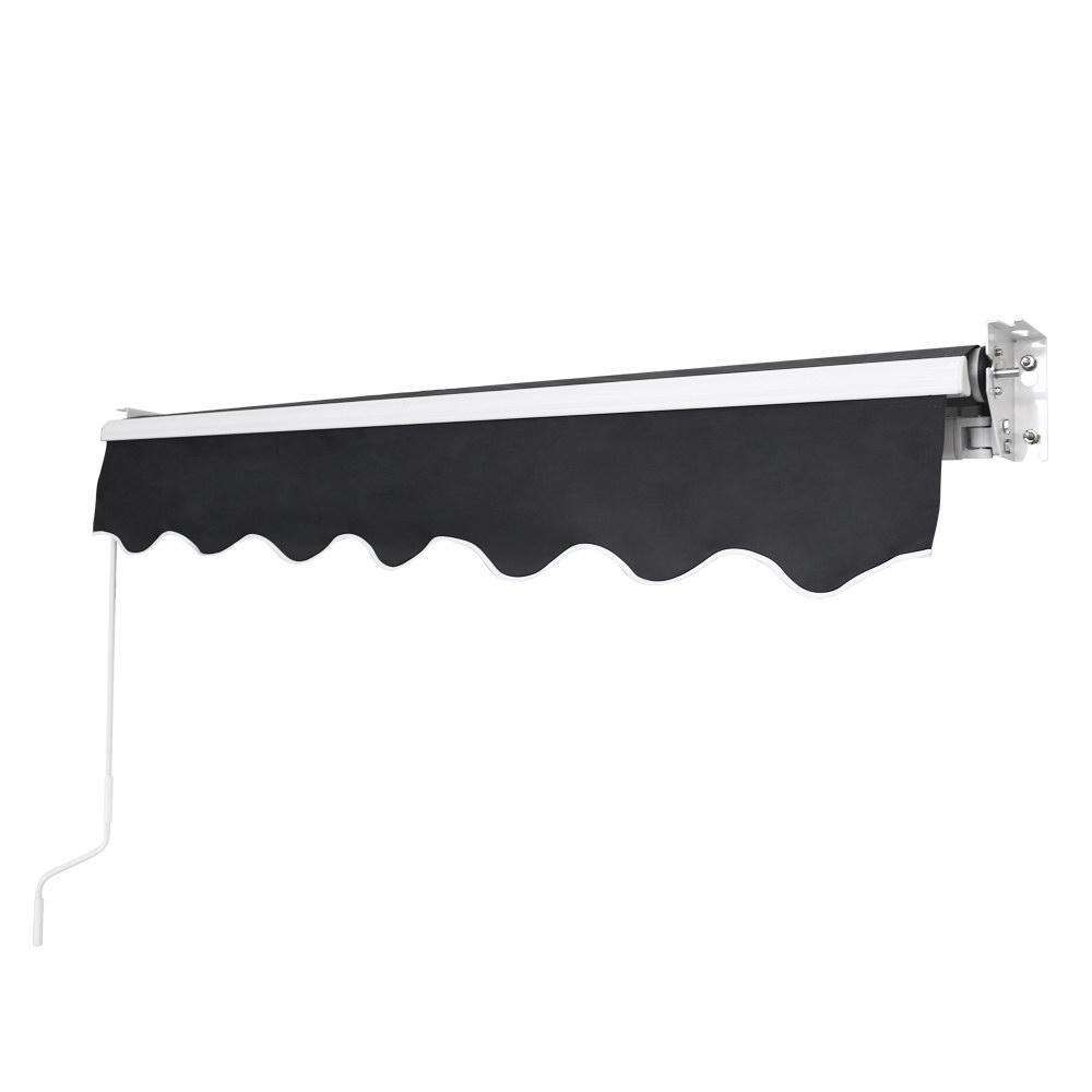 2x1.5m Folding Arm Awning Grey