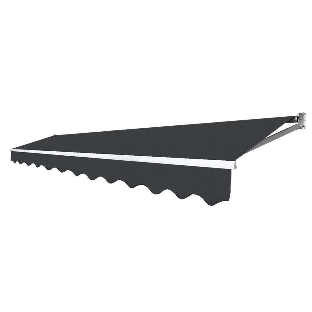 4x2.5m Folding Arm Awning Grey